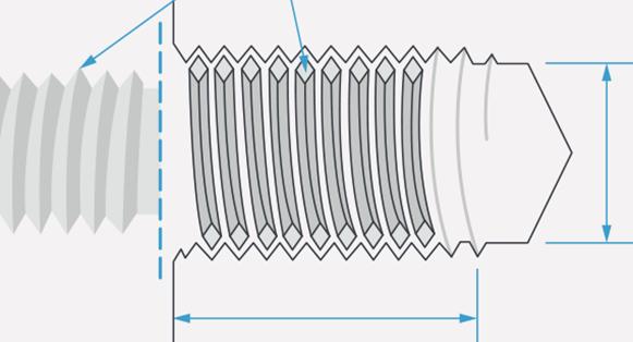 cnc turning threaded holes